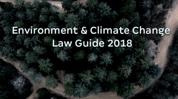 Environment & Climate Change Law Guide 2018 by ICLG