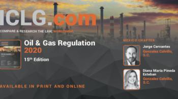 Guía de Regulación de Petróleo y Gas 2020 de ICLG