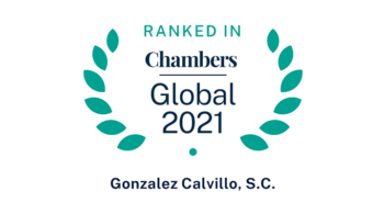 Gonzalez Calvillo recognized by Chambers and Partners Global Guide 2021