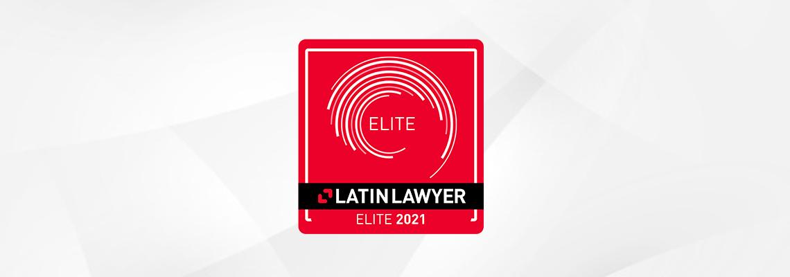 Gonzalez Calvillo reconocido como una de las 6 Firmas Elite 2021 por Latin Lawyer